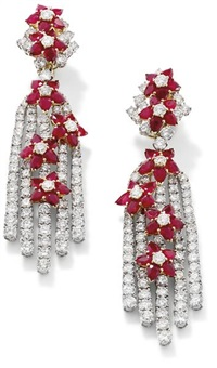 ear pendants by dianoor