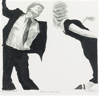 study from final life by robert longo
