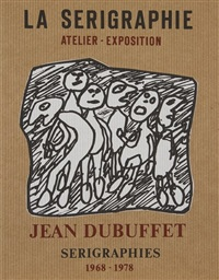 composition aux personnages by jean dubuffet