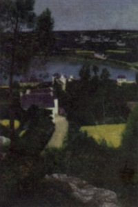 view of plougastel by georges rasetti