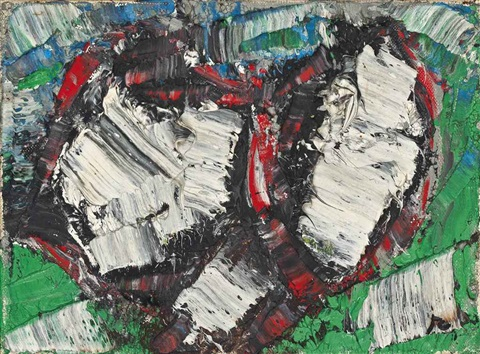 nouvelles impressions no 46 by jean paul riopelle