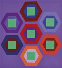 hat vert by victor vasarely
