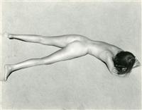 nude on sand by edward weston