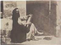 charles nègre en costume de moine by henri le secq and charles nègre