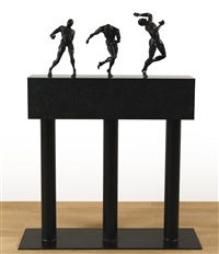 untitled (figures from lenny) by robert longo