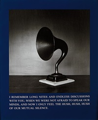 hush our silence (from exit art) by carrie mae weems