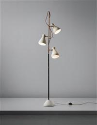 rare floor lamp by gino sarfatti