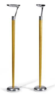 paire de luminaires, modèle spoon by eric giroud, etienne ruffieux and georges adattes