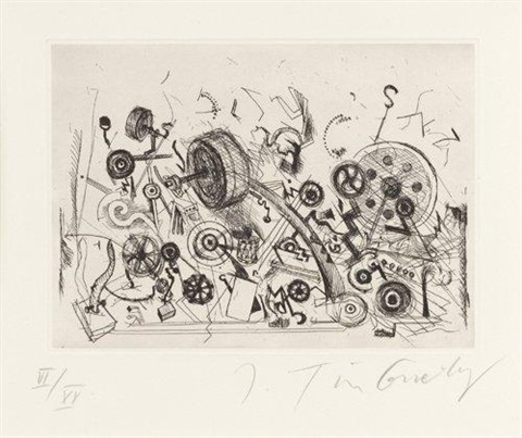 meta chaos by jean tinguely