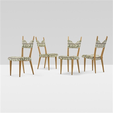 dining chairs set of 4 by jean royère