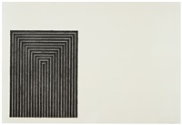 clinton plaza (black series i) by frank stella