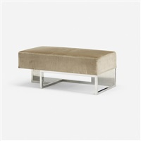 pair of benches for gucci (pair) by vladimir kagan