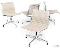 vier konferenzstühle (model ea 105) (set of 4) by herman miller