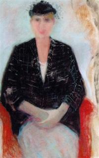 black check jacket by rose hilton
