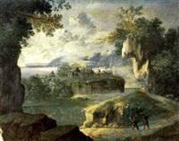 paesaggio fluviale by italian school-ferrara (17)