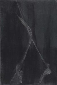 hommage a giacometti iii by istvan nadler