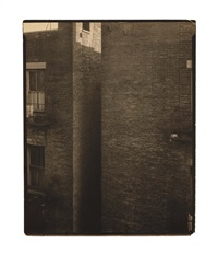 bricks (west 86th street), new york by edward steichen