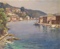 the river at looe by leslie kent