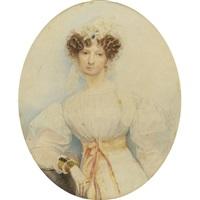 portrait of s.p. yeremila, st. petersburg by karl pavlovich bryullov