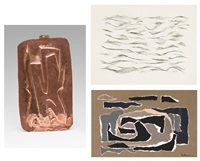 composition; composition; immanence (3 works) by willy anthoons