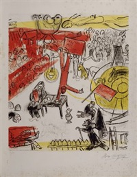 the revolution by marc chagall