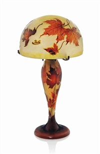 table lamp by émile gallé