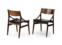 paar esszimmer-stühle (pair) by h. vestervig eriksen