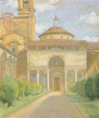 la chapelle des pazzi, florence (+ la chapelle en toscane; 2 works) by amélie sauger