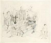 die martyrien der hl. agnes (+ händels tod/die agonie; 2 works) by georg fiederer