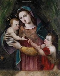 maria mit dem jesuskind und dem johannesknaben by anonymous-portuguese (16)