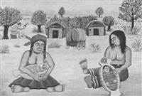 native mothers and babies by milan generalic