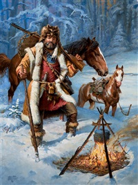 jeremiah johnson by william harry (bill) ahrendt