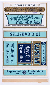 hard fag packets (set of 4) by peter blake