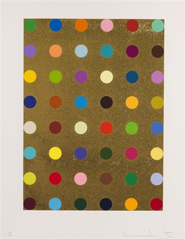 aurous iodide by damien hirst