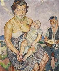 zigeunerfamilie by maria-mela muter