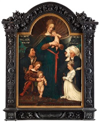 the darmstadt madonna by hans holbein the younger