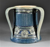 tyg (decorated by leona fischer nicholson) by newcomb college pottery