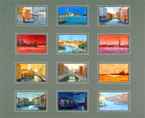 venise suite of 12 by roberto d ambrosio