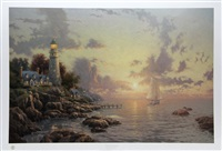 the sea of tranquility by thomas kinkade