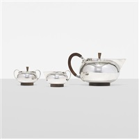 tea service by georg jensen (co.)