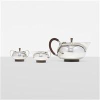 tea service by georg jensen (co.)