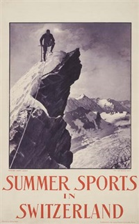summer sports in switzerland by jean gaberell