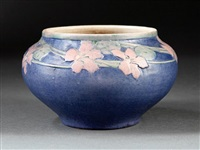 bowl (decorated by henrietta davidson bailey) by newcomb college pottery