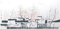 wasserdorf by wu guanzhong