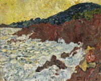 les rochers à anthéor by louis valtat