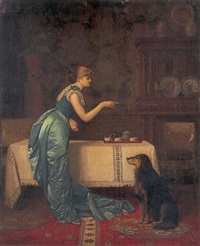 training for tea by august-hector cabuzel