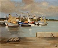 bateaux en bretagne by marcel dyf