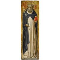der heilige dominikus by master of borgo alla collina