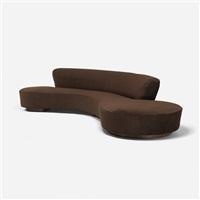 serpentine sofa by vladimir kagan