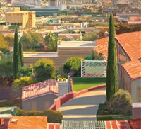 west hollywood seen from st. ives st by larry cohen